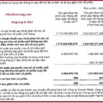 Thông minh tài chính (P12-3 : Báo cáo tài chính Vingroup- Lợi nhuận)