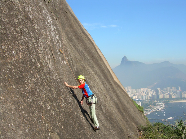 urca climb near corcovado - Living in Brazil