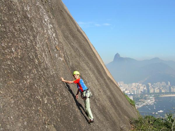 urca climb near corcovado - Living in Brazil
