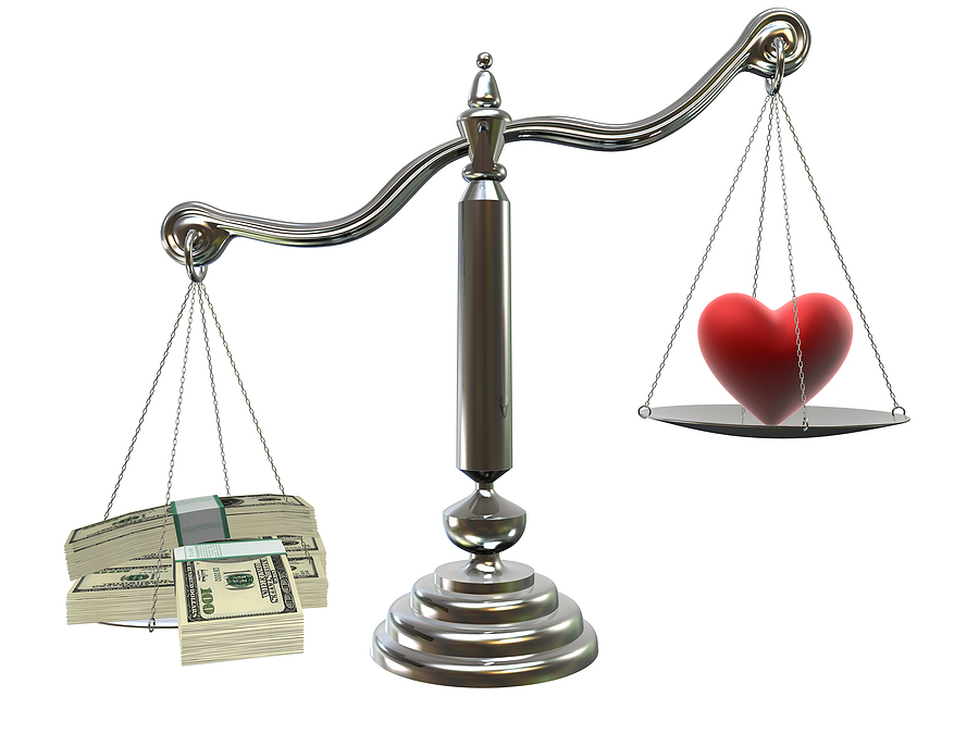 bigstock-Love-Or-Money-1268992