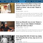 Đối mặt với khủng hoảng truyền thông- Sự kiện Khaisilk