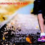 Làm thế nào để chinh phục marathon dưới 4 giờ?