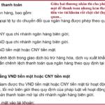 Bàn về thông tư 19 về quản lý ngoại hối biên giới Việt – Trung