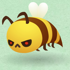 road-not-taken-angry-bee